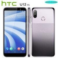 Лидер продаж htc U12 жизни, LTE, мобильный телефон, Android8.1 Snapdragon636 OctaCore 4 Гб Оперативная память 64 Гб Встроенная память 16MP + 5MP двойной Камера 6-дюймов...