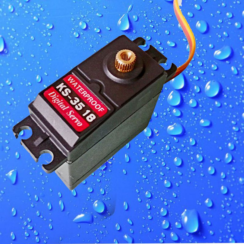K2 Waterproof High Torque full Metal Gear RC Servos motor airplane helicopter boat car Digital Servo 15kg torque angle of 35kg high torque coreless motor servo rds3135 180 deg metal gear digital servo arduino servo for robotic diy rc car