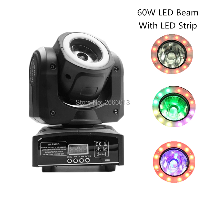 LED 60W Beam RGBW 4IN1 Beam Moving Head Light With RGB 3IN1 LED Strip,Super Bright LED DJ Spot Light DMX512 Control Stage Lights bloomingville блюдо
