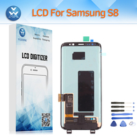 Super AMOLED For Samsung Galaxy S8 SM G950 G950F LCD Screen Touch Digitizer Glass Assembly Display