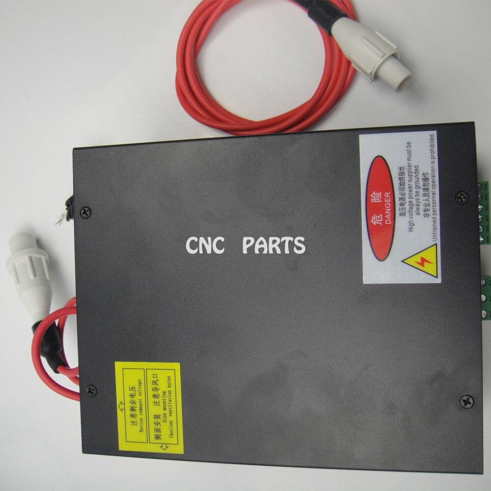 aukštos kokybės 50 W AC220V CO2 lazerio maitinimo šaltinis 50 W CO2 lazerio vamzdžiui