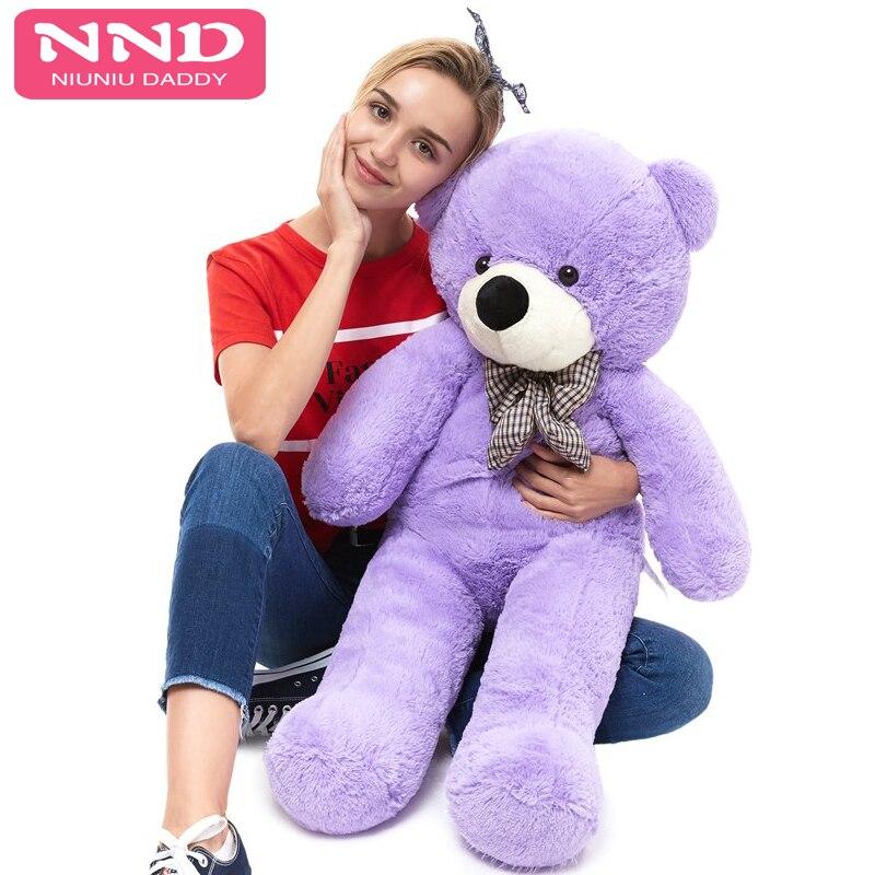Niuniu Daddy Teddy Bear Skins Skin 120CM To 200CM Giant Plush Empty Unstuffed Toy Toys Bears Shell Children Birthday Gifts Doll