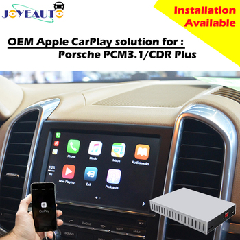 Aftermarket Smart Auto Multimedia CarPlay Box OEM Apple Carplay Retrofit for Porsche PCM3.1 CDR Plus Cayenne Macan for Panamera  Воск