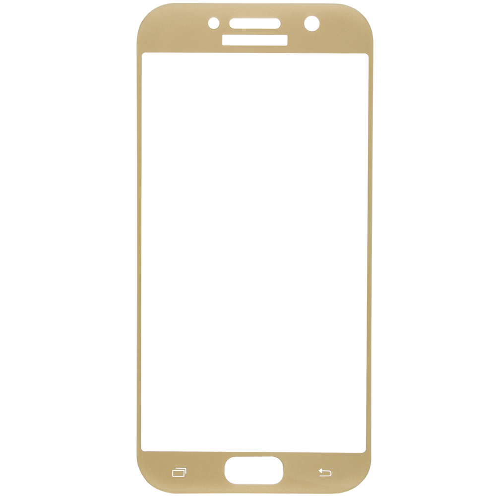 Protective glass Red Line for Samsung Galaxy A5 (2017) Full Screen (3D) gold стоимость