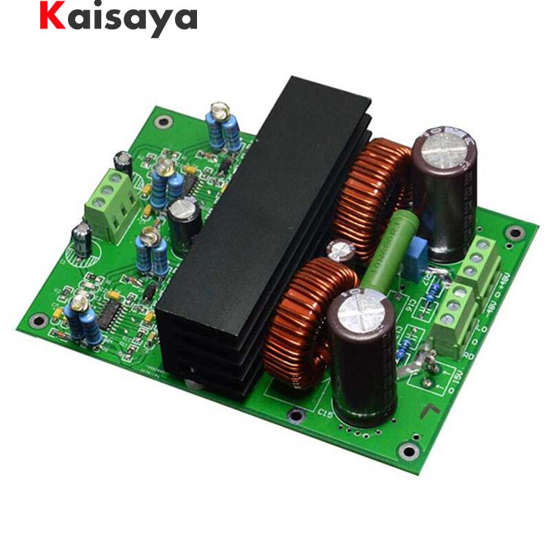 new 400W+400W Assembled HIFI Stereo IRS2092 + IRF4019 Class D Power amplifier board
