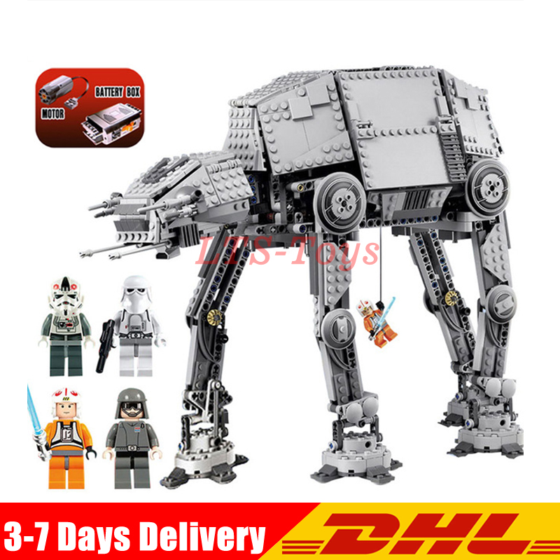NEW 1167pcs Lepin 05050 Star Series AT- the AT Robot Electric Remote Control Building Blocks Toys Compatible with 10178 wars конструктор lepin star plan бронированный шагоход at at 1137 дет 05050