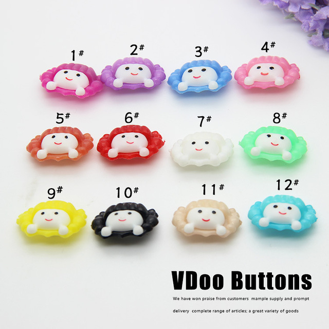 free shipping diy buttons monopoly wholesale candy colored buttons