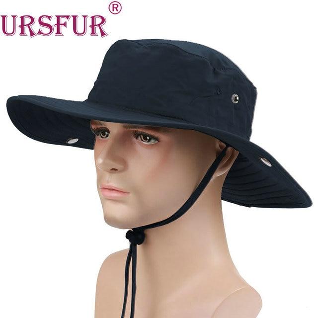 Ursfur cubo sombrero para el sol sombrero de pesca sombrero militar  cappello pescatore mens casquillos del c6c8e282ad0