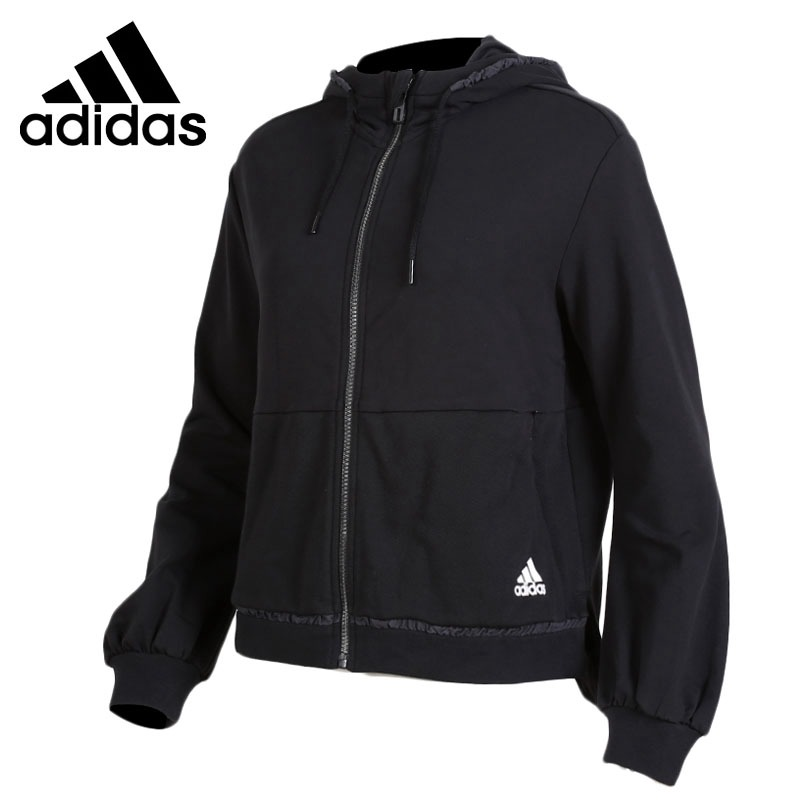 Original New Arrival 2018 Adidas FEM HOODED TT Women's jacket Hooded Sportswear цена