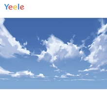 Yeele Landscape Sky Cloud Family Photocall Customized Photography Backdrop Personalized Photographic Background For Photo Studio