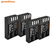4pcs 7.2V 1400mAh Li-ion akku DLI109 D-LI109 D LI109 Camera Battery For PENTAX K-R K-2 KR K2 K30 K50 K-30 K-50 K500 K-500 L10