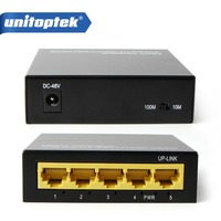 5 Port Network 10 100Mbps 1 Up Link 4CH POE Switch 4 Ports 100Mbps POE 1ch