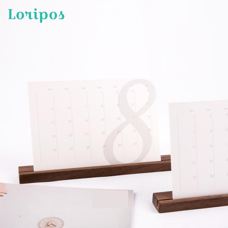Solid Wood Note Clip Calendar Holder Stand Photo Display Stand Creative Wedding Desktop Picture Clip Wooden Name Card Label Rack