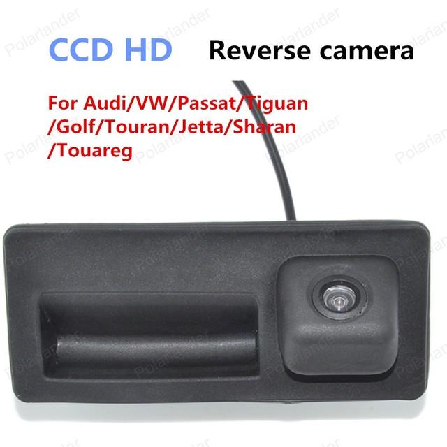 [High Quality] Para Audi/VW/Passat/Tiguan/Golf/Passat/Jetta/Sharan/Touareg Backup câmera Retrovisor Do Carro À Prova D' Água HD