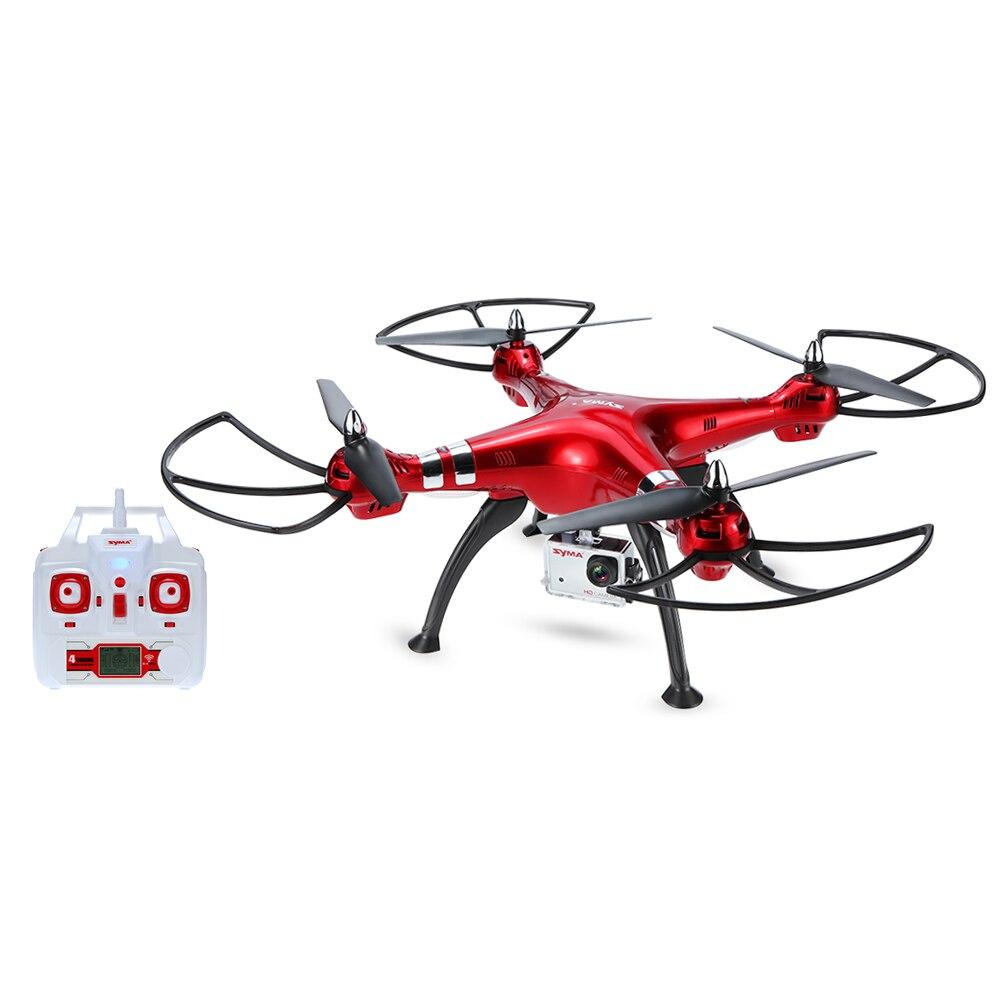 professional rc font b drone b font X8HG with 8 0MP HD Camera Headless Mod RC