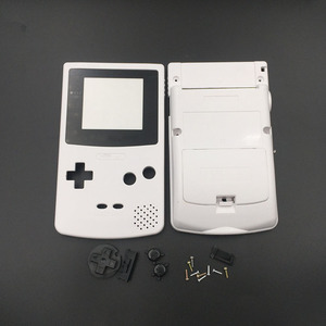 Image 3 - White & Grey For Nintendo GBC GameBoy Color Replacement Housing / Shell Case Cover Skin