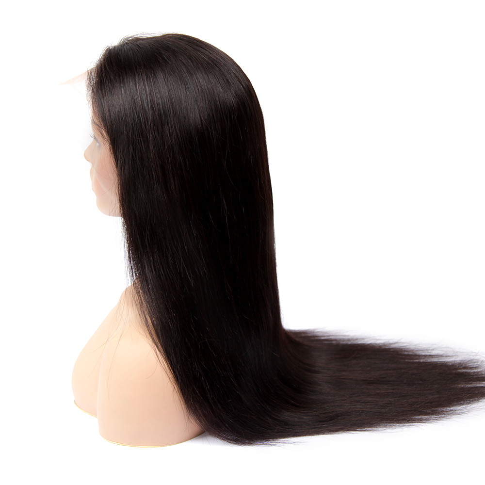 Image 4 - 13x4 Remy Straight Lace Front Human Hair Wigs Brazilian Human Hair Wig Extensions Near Me For Black Pre Plucked With Baby Hair-in Lace Front Wigs from Hair Extensions & Wigs