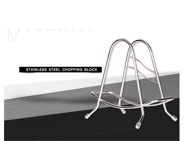 Cutting Board Rack Multifunction stainless steel cutting board rack Type A kitchen cutting board rack 17.5*16cm 170g H-40