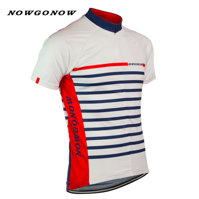 Man 2017 cycling jersey team red white black bike hot road ropa maillot  ciclismo wear clothing riding racing NOWGONOW usa Brand 97aa36b52