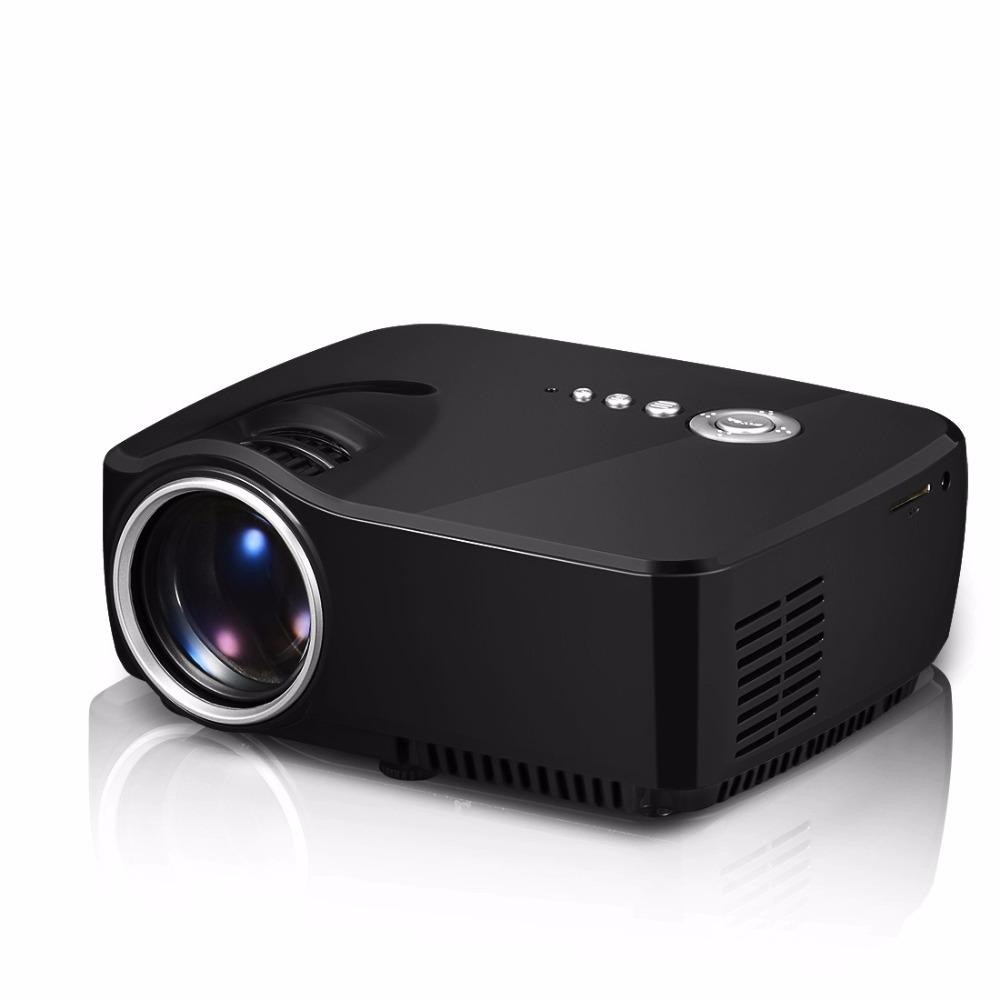 Free Shipping 2016 Bl35 Projector Full Hd Tv Home Cinema: 2016 Projector 1200 Lumens Support 1920x1080P Analog TV
