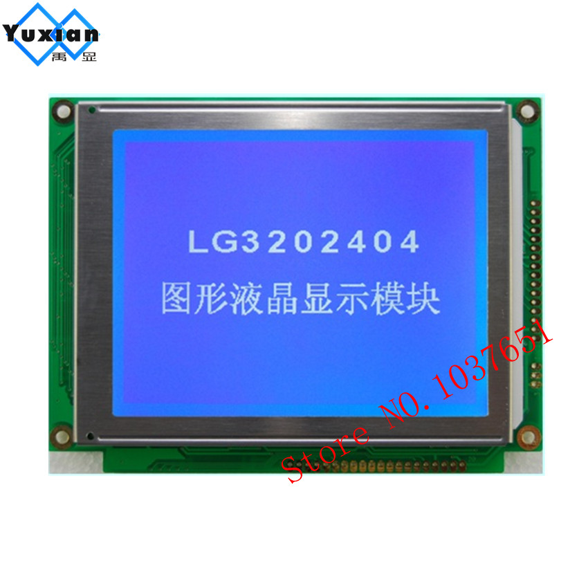1pcs fee shipping 320x240 lcd display blue without control  DMF50081 LG3202404BMDWH6N good quality  ICOM IC 756PROIII-in Screens from Consumer Electronics