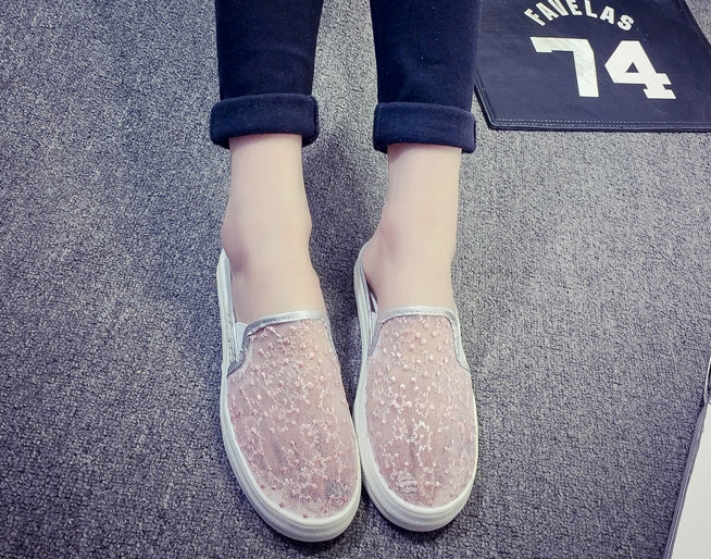 Brand Womens Shoes 2018 Summer New Style Breathable Leisure Shoes, Fashion, Excellent Personality, Elegant Wind, Womens Shoes.