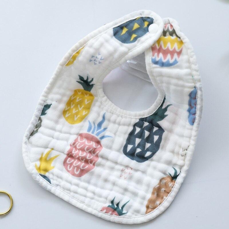 Cotton Bandana Bibs Baby Babador Feeding Smock Infant Burp Cloths Muslin Saliva Towel Baby Eating Accessory Soft Baby Stuff