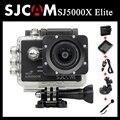24fps sj5000x elite sjcam wifi 4 k 2 k 30fps gyro câmera de ação + extra 1 pcs bateria + carregador de bateria carregador + carregador de carro + suporte para carro + monopé