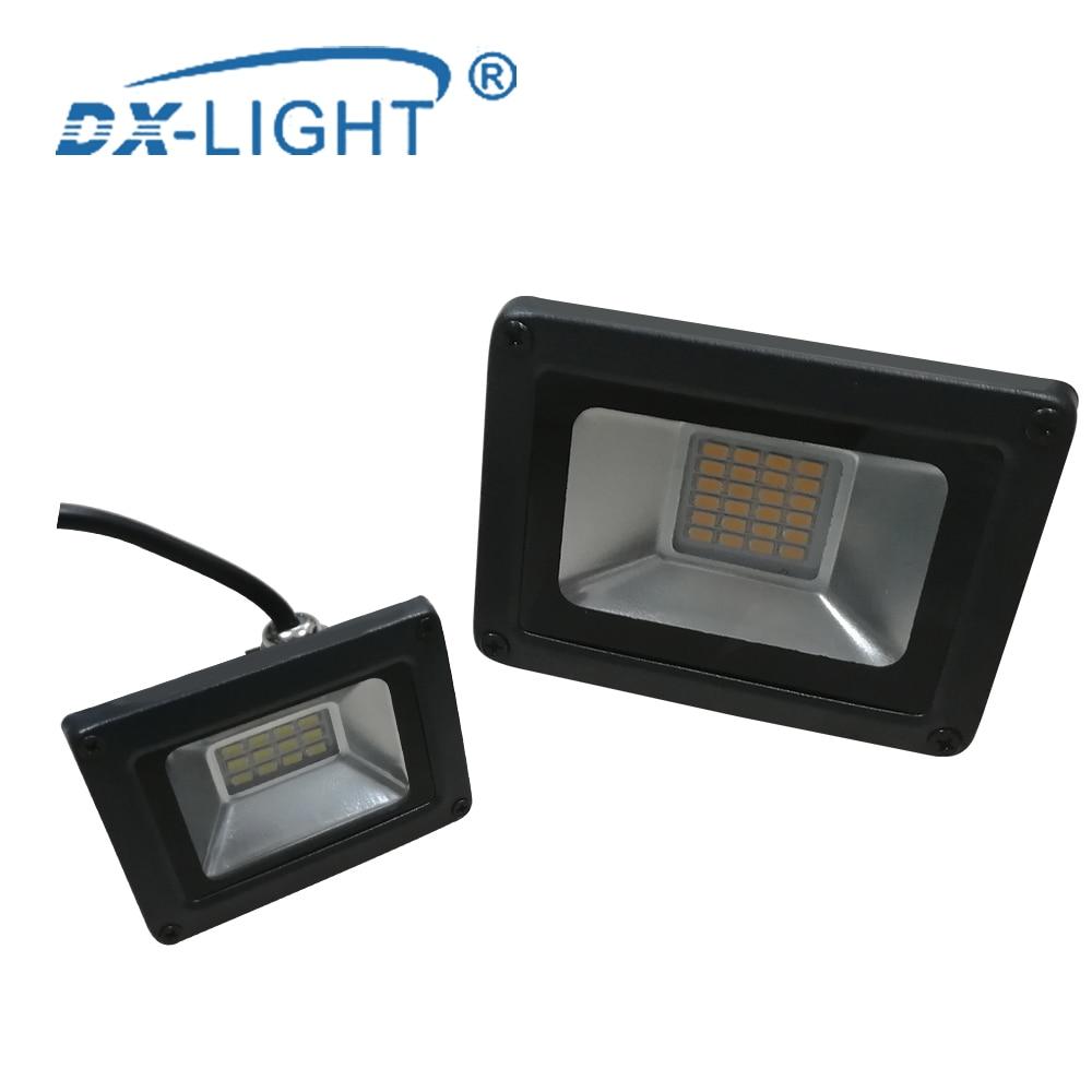Waterproof IP65 LED Work Light 10W 20W 30W 50W 100W Engineering Light 220V 230V 240V LED Outdoor Lig