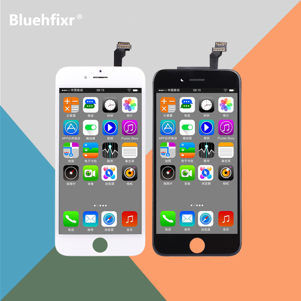 Bluehfixr LCD For iPhone 6 Screen Display Touch Screen Digitizer Assembly Phone Replacement Parts For iPhone 6 6s Plus LCD