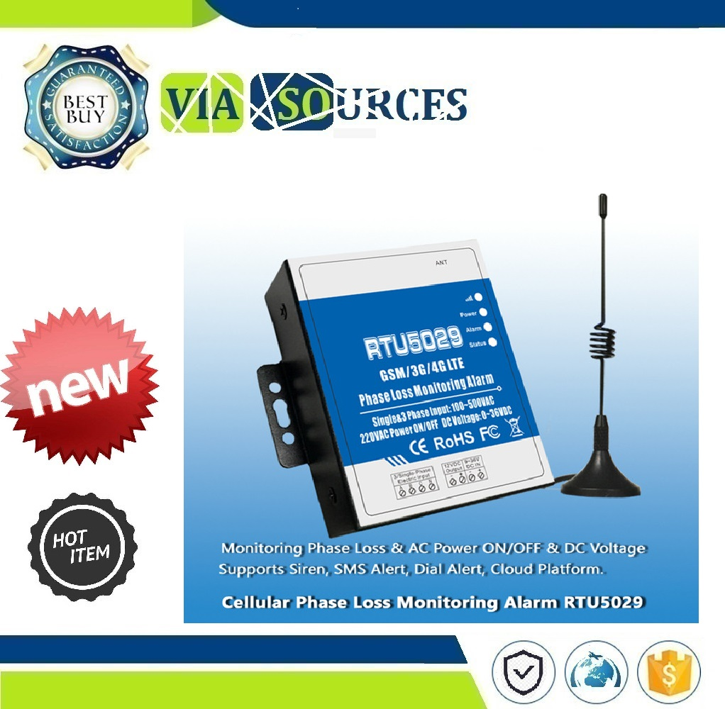 RTU5029 alarme de surveillance de perte de Phase GSM 3G 4G LTE sans fil haute-basse tension avec alerte SMS automatisation industrielleRTU5029 alarme de surveillance de perte de Phase GSM 3G 4G LTE sans fil haute-basse tension avec alerte SMS automatisation industrielle