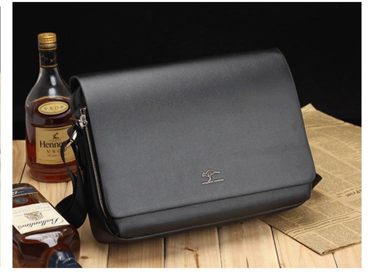 HTB1t.MsSpzqK1RjSZFvq6AB7VXa6 Designer Brand Kangaroo Briefcase Men Soft Leather Shoulder Travel Bag Business office Computer laptop bag Cover Messenger Bags