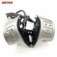 SKTOO New Steering Wheel Control Button switch For Toyota corolla 2007-2016 OEM 84250-02200 / 12020