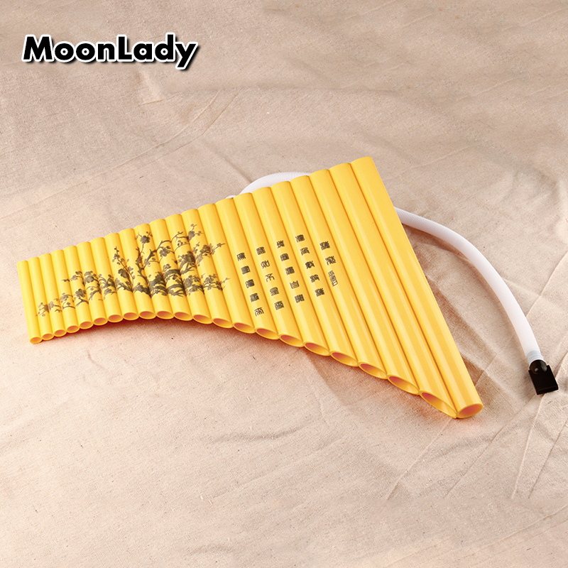US $75 0 |New Arrival Special Pan Flute 22 Pipes G Key Panpipe ABS Plastic  Musiacl Instrument Left Hand Folk Instrument-in Flute from Sports &
