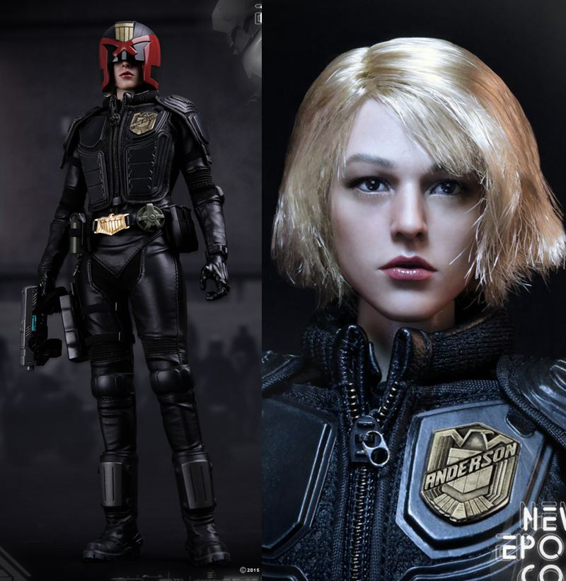 1/6th scale figure doll Collectible Plastic model toy Female Dredd NEW EPOCH COP Cassandra Anderson 12 Action figure doll 1 6 scale figure doll terminator3 rise of the machines fembot t x 12 action figure doll collectible model plastic toy