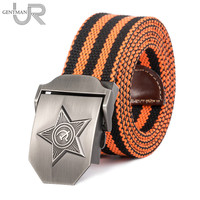New Men Women High Quality 3D Five Rays Star Military Belt Old CCCP Army Belt Patriotic