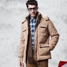 2016 winter men's thick velvet jacket cotton casual detachable hooded padded jacket men's warm winter coat WZ258