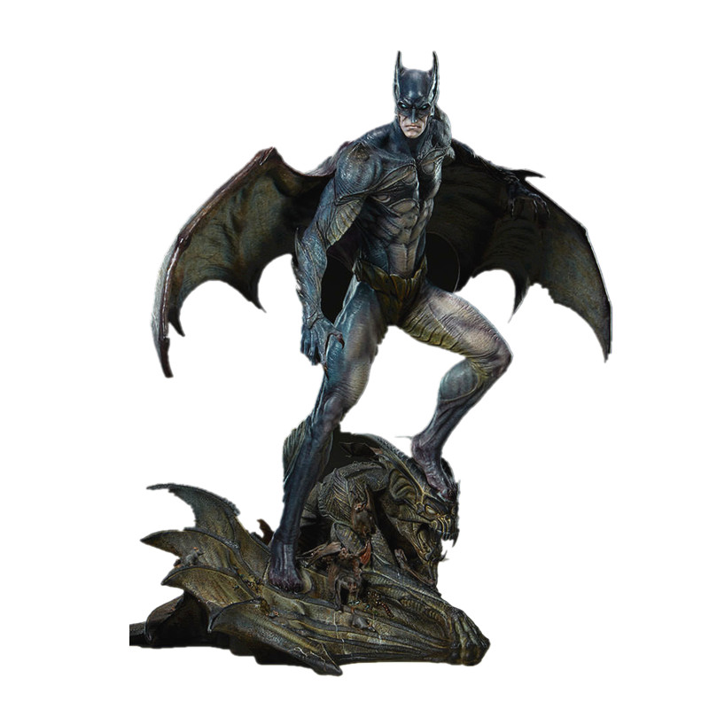 50CM The Avengers Batman Gotham City Nightmare Collection Statue Action Figure Collection Model Toy X38