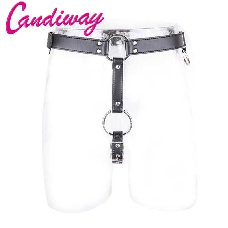 Alluring Man Chastity body restraint Harness bondage cock ring Straps Fetishwear for man sex game toy O-ring tailored pleasure