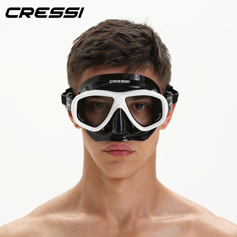 3e803e2e5617 Cressi ICON FreeDiving Mask Low Volume Multiusage Diving Mask Scuba Diving  Mask for Adults Men Women