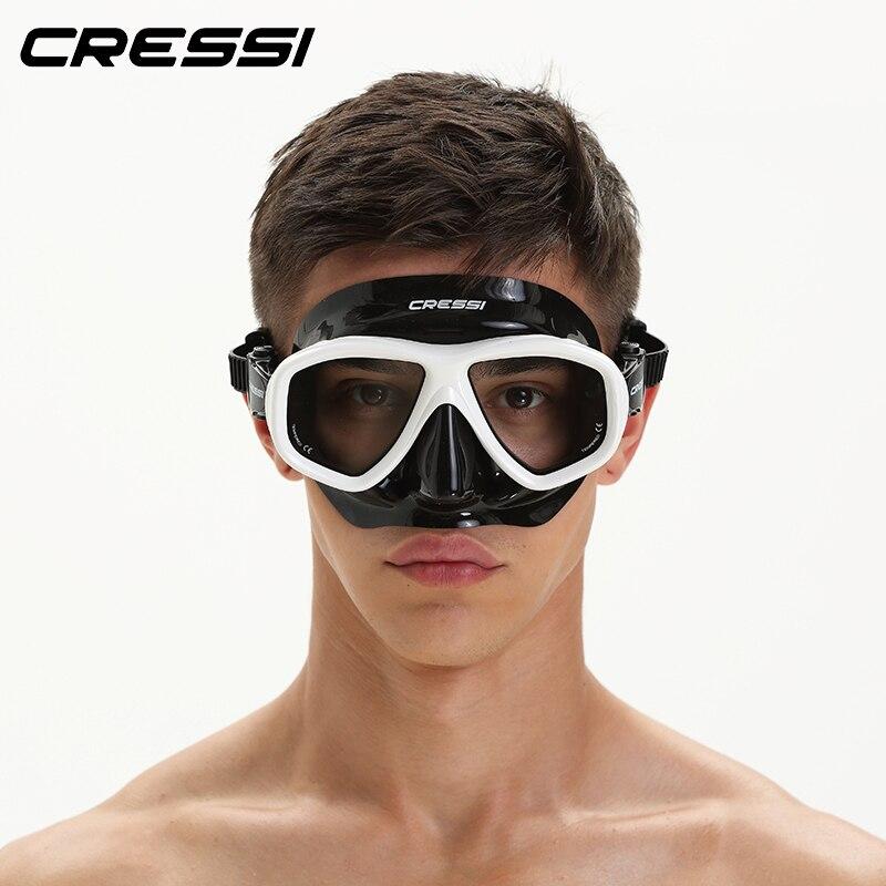 Cressi icono de apnea máscara de bajo volumen Multiusage máscara de buceo para los adultos de las mujeres de los hombres 2018 nuevo