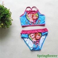 2015 Girls Child Bikini Swimsuit Kids Swimwear Girls Bikini Children Swimwear
