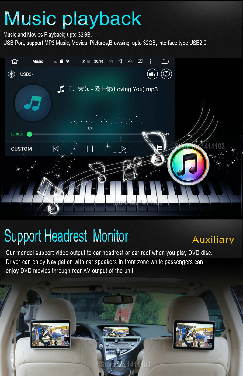Android 7.1 CAR DVD player FOR TOYOTA AURIS 2007-2011 car audio gps stereo head unit Multimedia navigation WIFI SWC BT