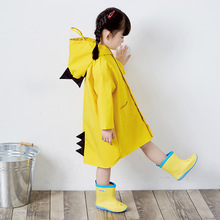 YOOAP Kids Raincoat Children Rain Jacket Waterproof Poncho Wear Cute Unisex Storm Break Slicker