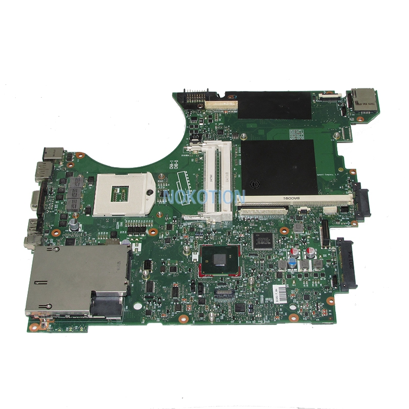 NOKOTION original 595700-001 laptop motherboard For HP 8740W QM57 With graphics Card slot Main board works 419616 001 012804 001 server motherboard for dl585 g2 system board original 95