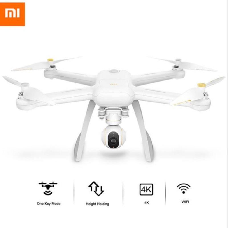 Xiaomi Mi Drone HD 4 k WIFI FPV 5 ghz Quadricoptère À 6 Axes Gyro 3840x2160 p/30fps quadcoptères RC Pointant Vol Mouche