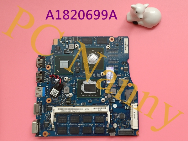 A1820699A MBX-237 laptop motherboard for SONY VAIO VPC-SC 1P-0114J00-A011 i3-2310M HM65 ATI 216-0809000 DDR3 Mainboard