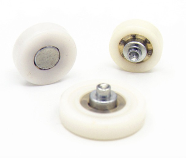 Diameter:22mm  (rivet)Drawer bearing pulley wheels Furniture Sliding door positioning wheel