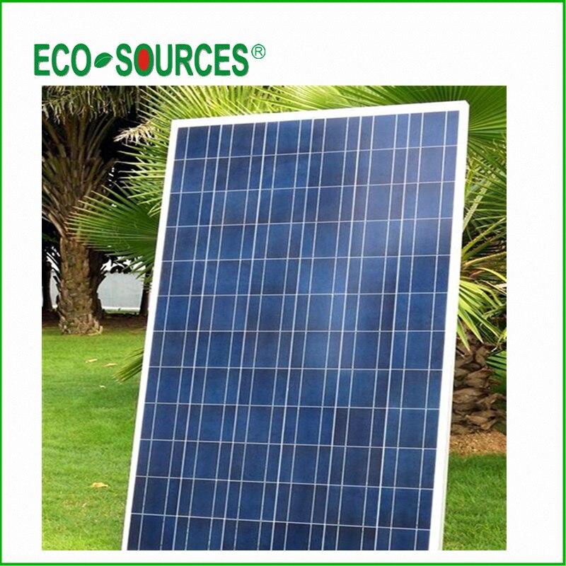UK Stock to UK 100 Watt Solar Panels 12V for RV with CE Certification
