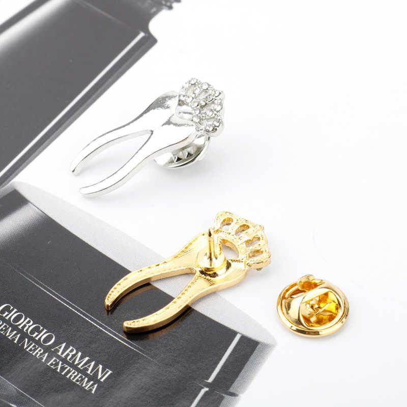 MQCHUN Kristal Dokter Gigi Dokter Gigi Pin Perhiasan untuk Medis/Perawat/Medis Bros Bilogy Mahasiswa Hadiah/Hadiah Ilmu-40